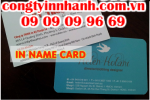 In nhanh name card, in nhanh một mặt hai mặt